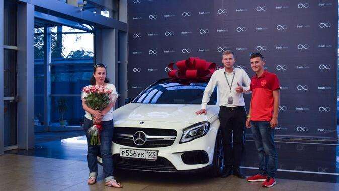 Евгения, Mercedes-Benz GLA AMG