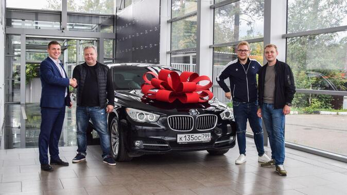 Игорь , BMW 5 GT