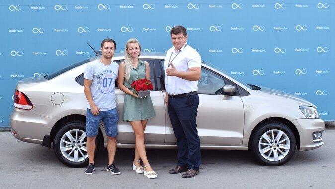 Екатерина, Volkswagen Polo